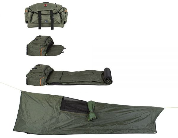 Expanse Backpack Bed Rolled Out