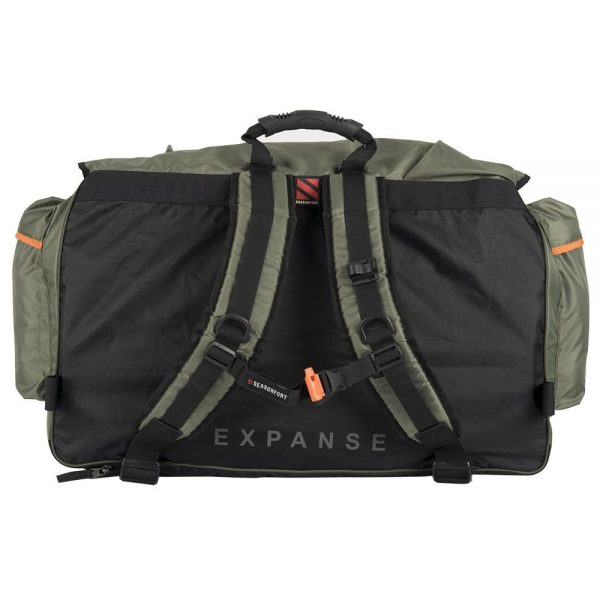 Expanse Backpack Bed Rear View
