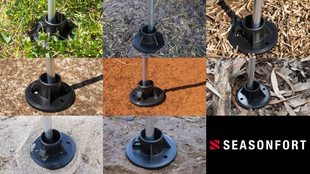 Seasonfort Pole Holder